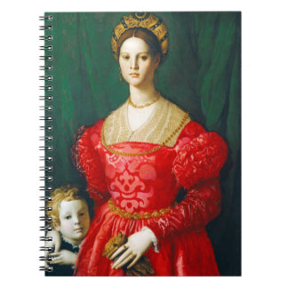 A Young Woman and Her Little Boy, c.1540 Note Books