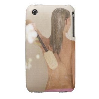 A young woman in a shower Case-Mate iPhone 3 case