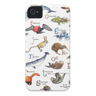 A-Z of amazing animals iPhone 4 Case-Mate Case