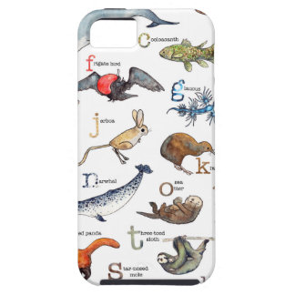 A-Z of amazing animals iPhone 5 Case