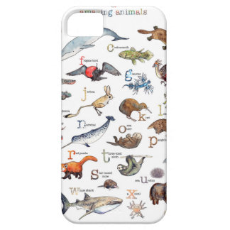 A-Z of amazing animals iPhone 5 Cover