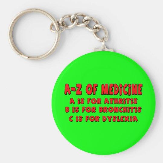 A-Z of Dyslexia Key Ring