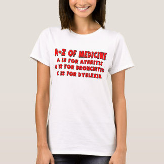 A-Z of Dyslexia T-Shirt