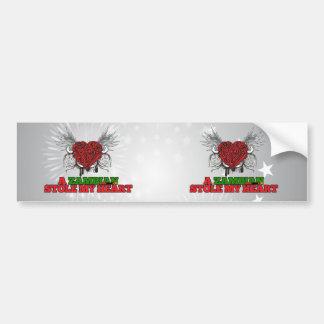 A Zambian Stole my Heart Bumper Stickers