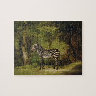 A Zebra, 1763 (oil on canvas) Jigsaw Puzzle