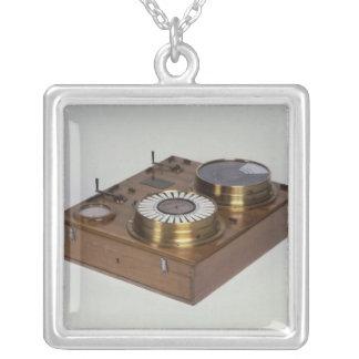 A Zeigertelegraph, produced by Werner von Silver Plated Necklace