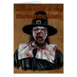 A Zombie Thanksgiving Card
