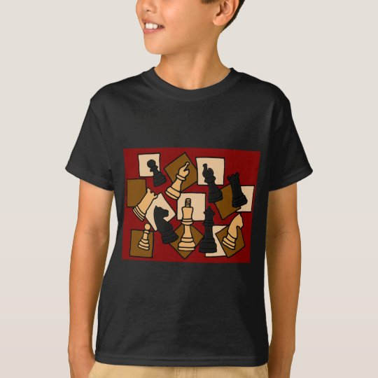 AA- Awesome Chess Game Pieces Art T-Shirt