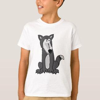 AA- Funny Goofy Grey Wolf Shirt