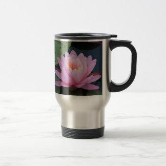 AA- Pink Lily Travel Mug