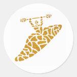 aaa42 classic round sticker
