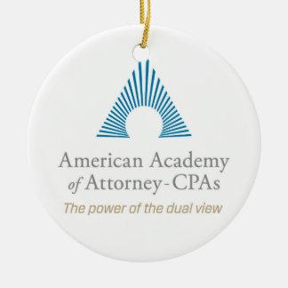 AAA-CPA Circle Ornament