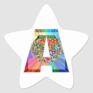AAA Cutout JEWEL : FirstClass First Topper Star Sticker