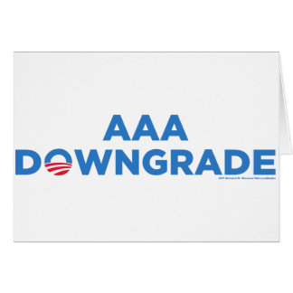 AAA Downgrade Card