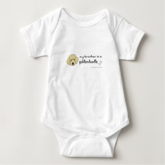 aaaoct6d my brother is a goldendoodle -more breeds tshirt