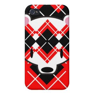 Aaargyle RB kuma speckcase iPhone 4/4S Cover