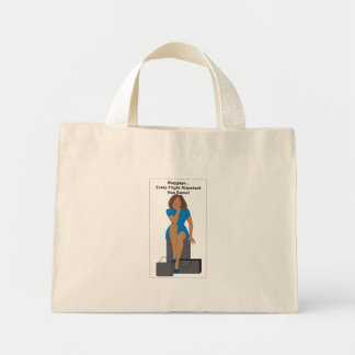 AABagWoman Mini Tote Bag