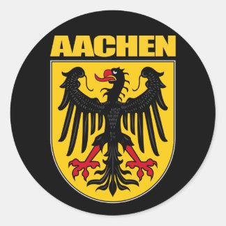 Aachen Round Sticker