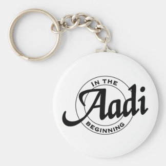 aadi basic round button key ring