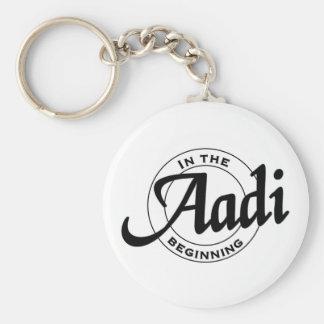aadi basic round button key ring