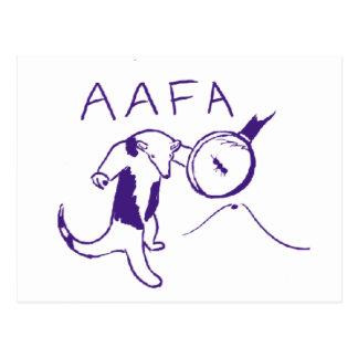 AAFA POSTCARD