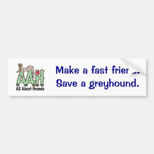 AAH Logo Bumper Sticker