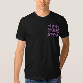 AaParade Cool Pinks on Black T-shirts
