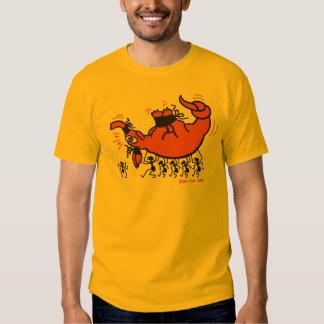 Aardvark in Trouble Tee Shirts