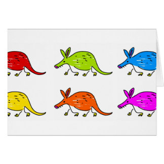 Aardvarks Greeting Cards