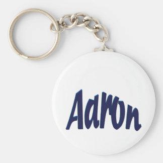 Aaron Basic Round Button Key Ring