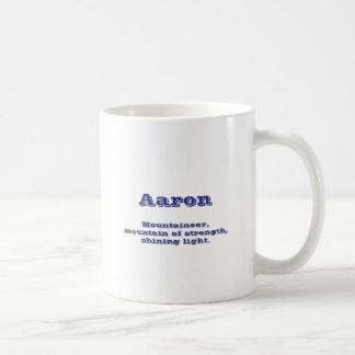 Aaron Basic White Mug