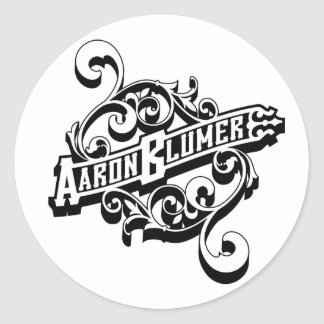 Aaron Blumer Sticker