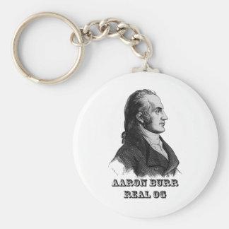 Aaron Burr Original Gangsta Basic Round Button Key Ring