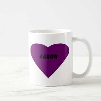 Aaron Coffee Mug