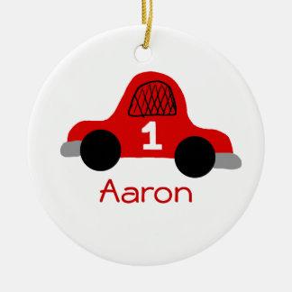 Aaron Round Ceramic Decoration