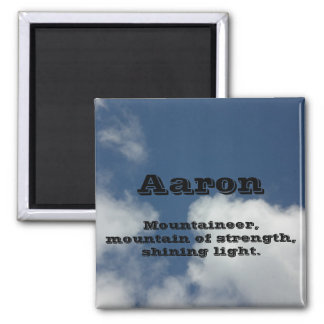 Aaron Square Magnet