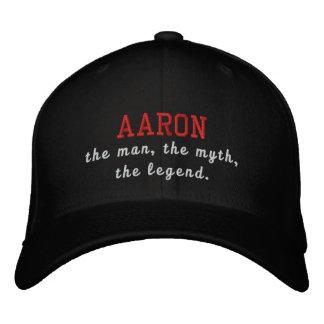 Aaron the man, the myth, the legend baseball cap