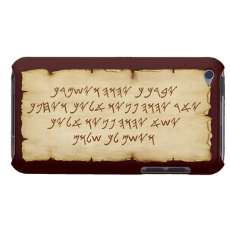 Aaronic Blessing Paleo iPod Touch 4G BarelyThere iPod Case-Mate Cases