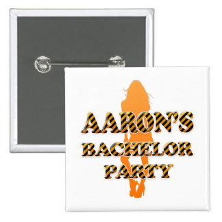 Aaron's Bachelor Party Pins