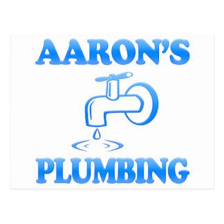 Aaron's Plumbing Postcards