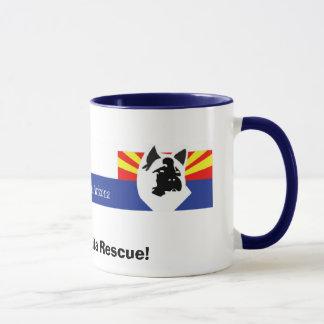 AARTA-Header, I Support Akita Rescue! Mug