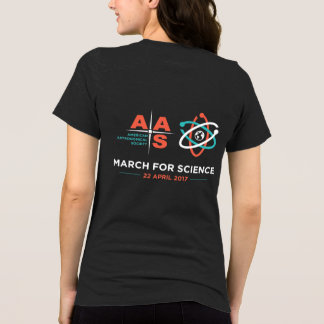 AAS + March for Science; Reverse, Heather Grey T-Shirt