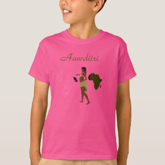 Aawdiiri - descendance t-shirt