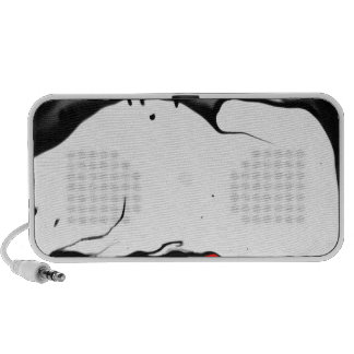 ab06 Abstract Fun Art Design Color Portable Speakers