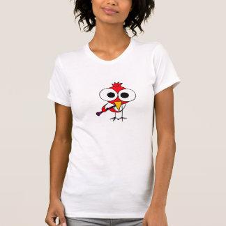 AB- Cardinal Bird Playing Clarinet Cartoon Shirt