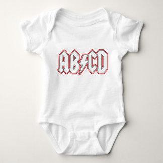 AB/CD BABY BODYSUIT