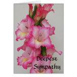 AB- Deepest Sympathy Floral Card
