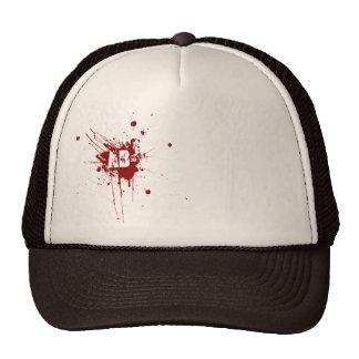 AB Negative Blood Type Donation Vampire Zombie Cap