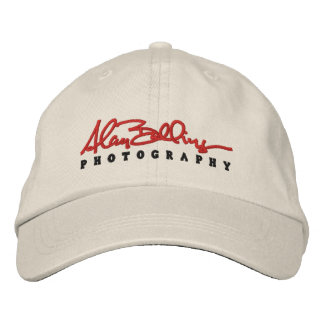 AB Photography Embroidered Baseball Caps