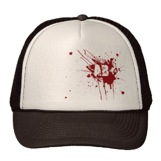 AB positive Blood Type Donation Vampire Zombie Cap